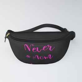 Never Underestimate a Mom Who Rides Horses design For Girl Fanny Pack