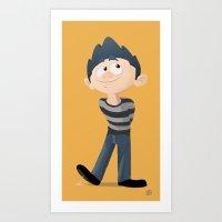 pixar Art Prints featuring Am I Pixar Enough Yet? by doodletome