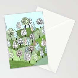 Little Cottage in the Woods Stationery Cards