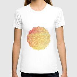 Color Burst - Sunset Ring T-shirt