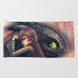 Gift of the Night Fury Beach Towel