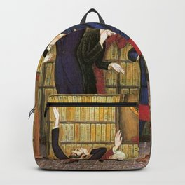 Columbus and the Egg Story; anyone can do anything with the right skill set portrait by Nils Dardel Backpack