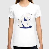 polar bear T-shirts featuring Polar bear by Michelle Behar