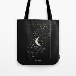 The Moon - Tarot Illustration Tote Bag