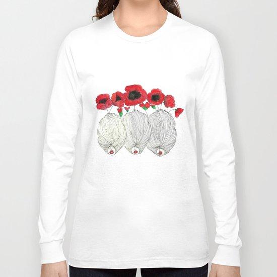 Poppy Girls Long Sleeve T-shirt