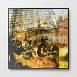 Urban Cola Metal Print