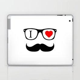 I Love Hipster Laptop & iPad Skin