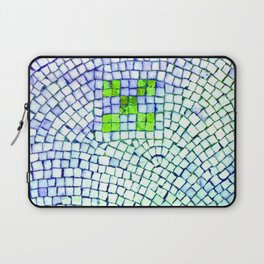 artisan 22.06.16 in lime & shades of blue Laptop Sleeve