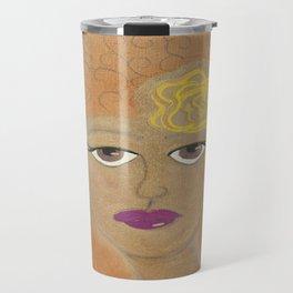 Golden Lady Travel Mug