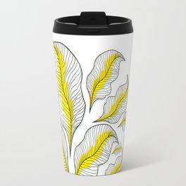 yellow---line Travel Mug