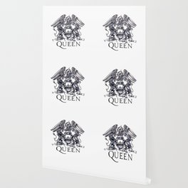 Queen Band logo Wallpaper