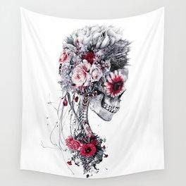 Skeleton Bride Wall Tapestry