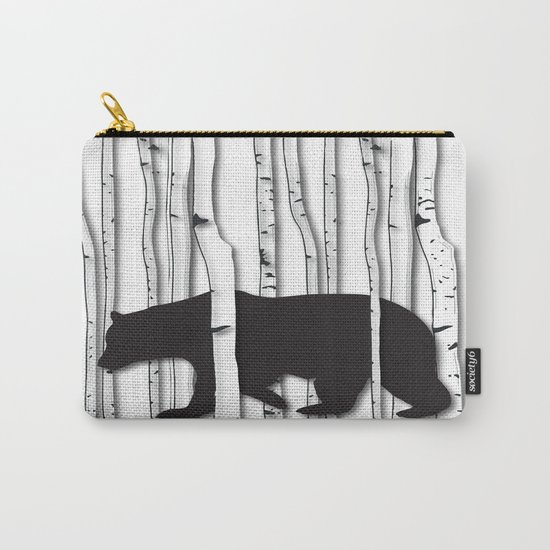 Lonely Bear Carry-All Pouch