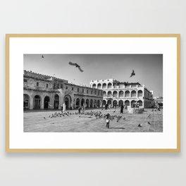 Souq Waqif, Doha, Qatar Framed Art Print