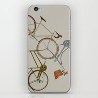 bicycles iPhone & iPod Skins featuring bicycles by Golden Boy