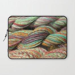 Bad Ewe Redemption: Hand Dyed Yarn Skeins Laptop Sleeve