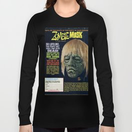 Zombie Mask Long Sleeve T-shirt