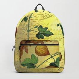 Vintage Botanical Collage, Autumn Pumpkins Backpack