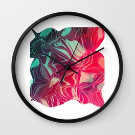 Magnetic Disturbance Wall Clock