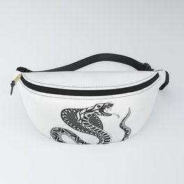 black king cobra ecopop Fanny Pack