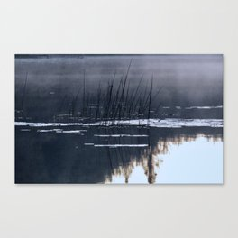Mists on the Water Canvas Print