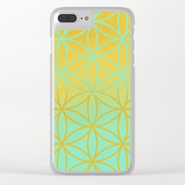 Meditation space Clear iPhone Case