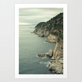 Tossa de Mar, Catalonia Art Print