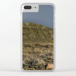 I Like Big Buttes and I Cannot Lie Clear iPhone Case