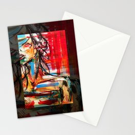 Wind Girl Stationery Cards