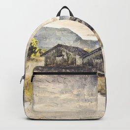 Lake Boat House Water Backpack