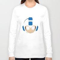 mega man Long Sleeve T-shirts featuring Mega Man by Sport_Designs
