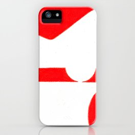Parkway in Red iPhone Case