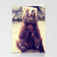 teddy bear Stationery Cards featuring Teddy? by Gato Gris Games