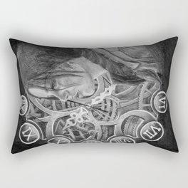 Catching Fire Rectangular Pillow