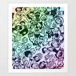 animooter Art Print