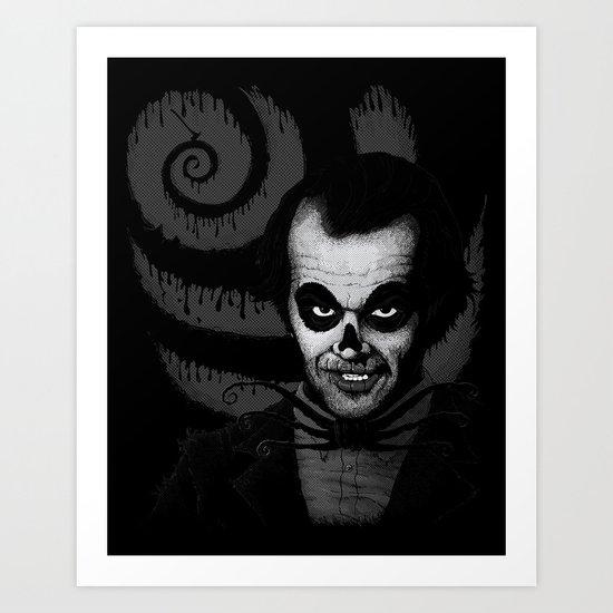 Jack T. Skeleton Art Print