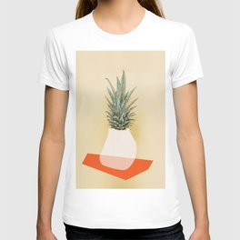 Pineapple collage T-shirt