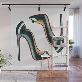 Beautiful high heels Wall Mural