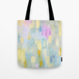 Blue Abstract Tote Bag