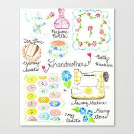 Grandmothers Canvas Print