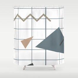 Memphis Style Shower Curtain