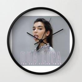 Dua Lipa tour 2018 Wall Clock