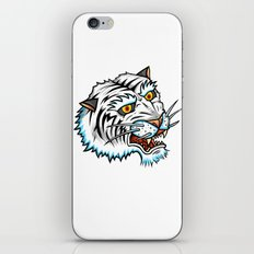 Traditional White Bengal Tiger iPhone & iPod Skin
