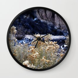 down the hill Wall Clock