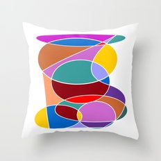 Abstract #24 Throw Pillow