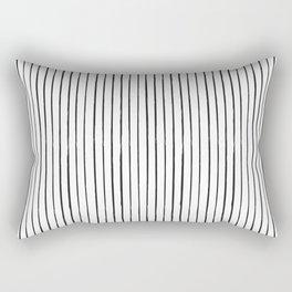 Minimal Pattern :: Lines Rectangular Pillow