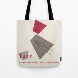 Love: Classic Tote Bag
