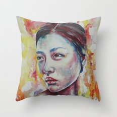Liu's Sunrise Throw Pillow