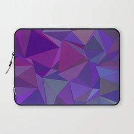 Chaotic purple tiles Laptop Sleeve