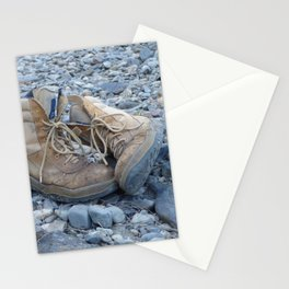I Left My Boots in Dalmorton Stationery Cards